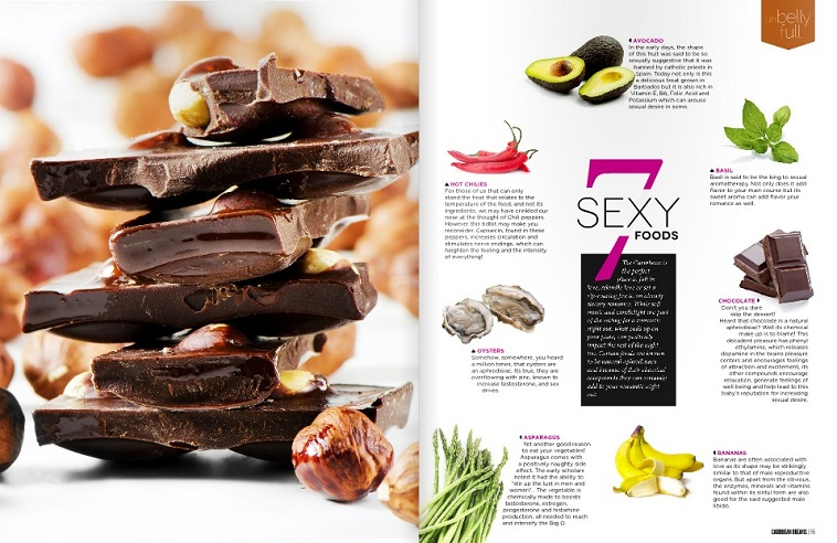 7 sexy foods