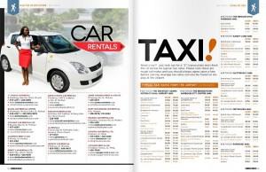 rental and taxi