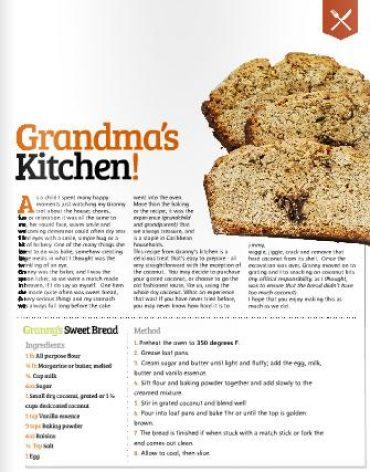 grandma kitchen sweet bread