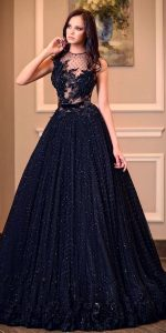 f61c690e2be While black may be the hottest wedding dress hue at the moment
