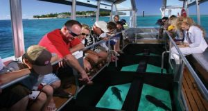 Glass bottom boats barbados