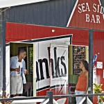 Sea side rum shop
