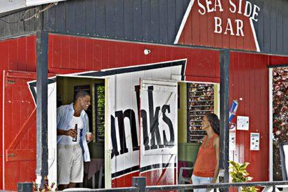 Sea side rum shop