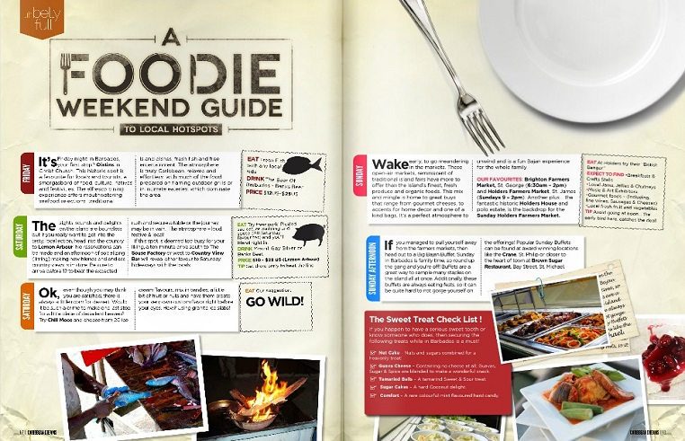 foodie weekend guide