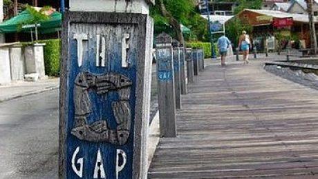 the gap boardwalk